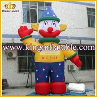 Used Advertising Giant Inflatable Clown Cartoon Charaters