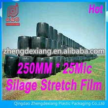 750mm x 25mic Black LLDPE Agriculture Silage Stretch Film