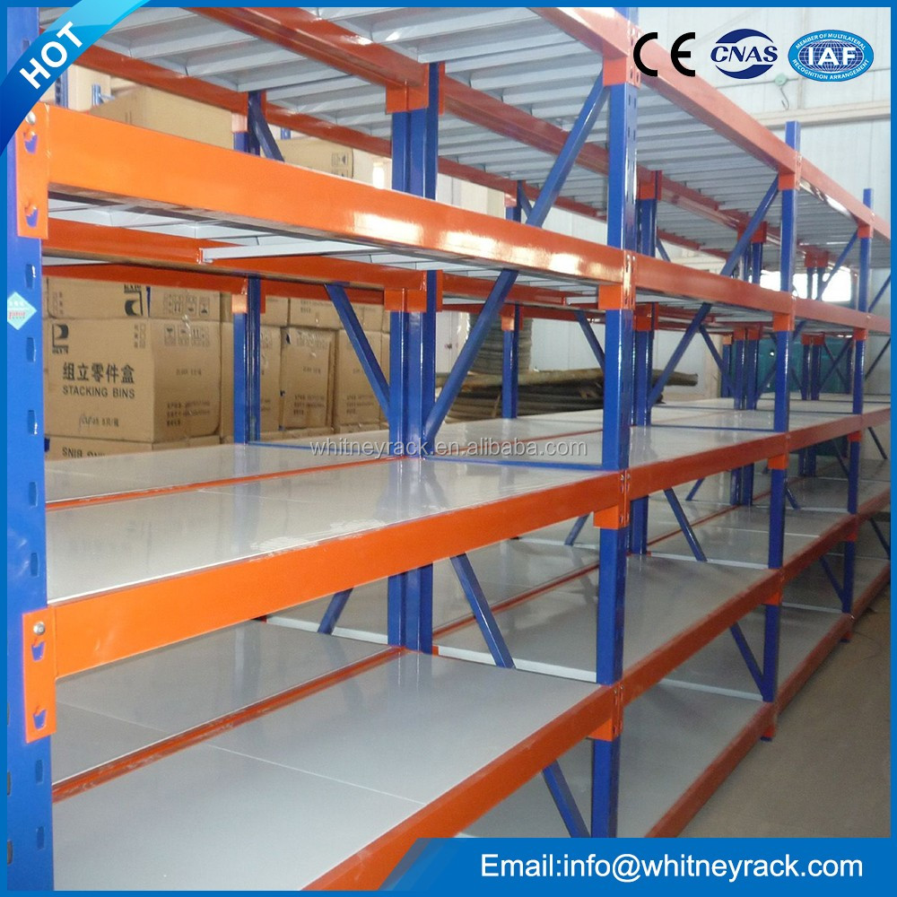 2015 Medium duty shelving Warehouse rack/metal storage rack on hot selling with Particle board