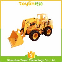 2016 New product 1: 22 scale remote control plastic toy rc hobby dump truck for sale with light and music