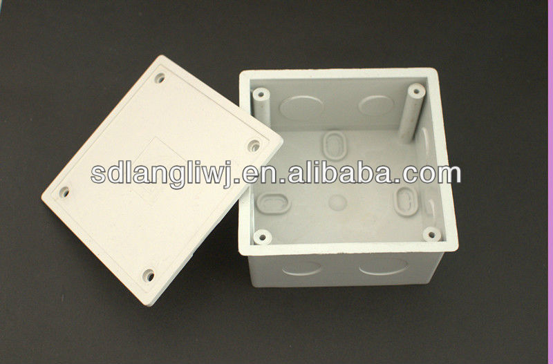 Pvc outlet box electric juntion buy