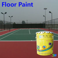 Anti-slip floor coating for basketball court epoxy paint sports flooring uv floor coating