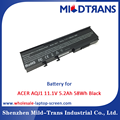 Top Rechargeable Laptop Battery Supplier for ACER AQJ1 11.1V 5.2Ah 58Wh Black