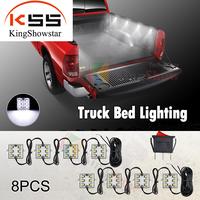 Large Truck Bed Lighting Light Kit 48 WHITE LED for Chevy Ford Toyota Dodge