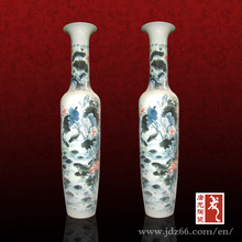 Chinese Hand painted Tall Porcelain Large Floor Vases for Home Decor