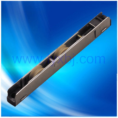 Stainless steel window copper twin roller for upvc slide door