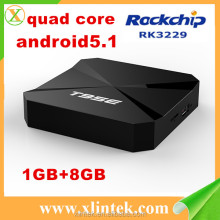 Cheapest cielo iptv android tv box 1 gb RAM T95E hecho en china