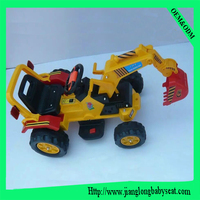 Kids electric excavator toy digger toy for sale