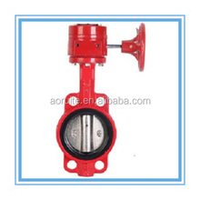 Handwheel Operation Fire Control Signal Butterfly Valve