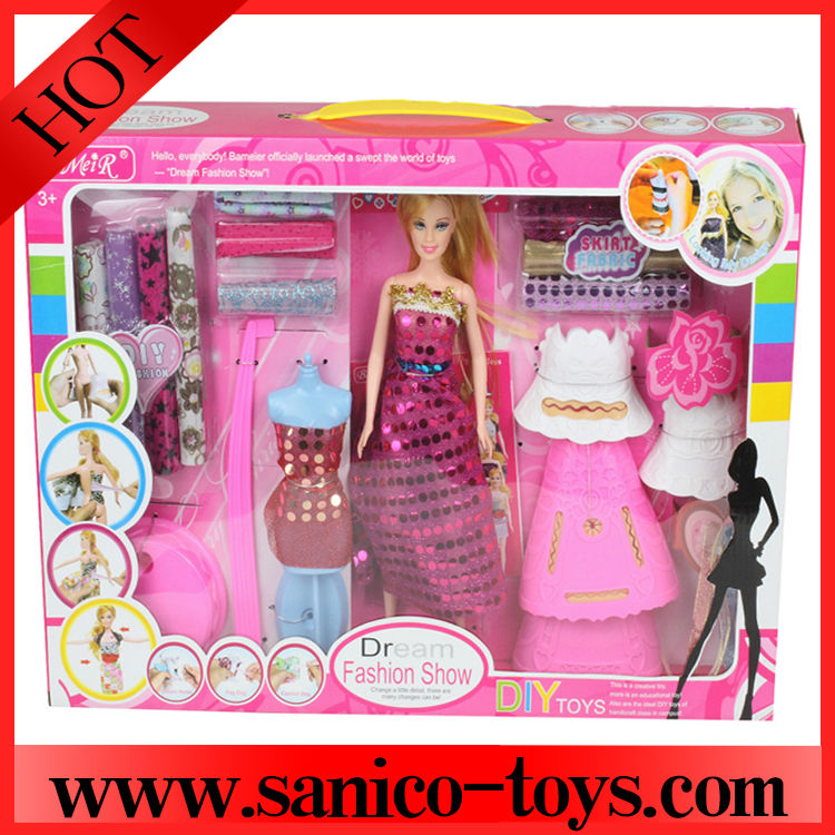 Toys For Girls Product : New kids toys for diy doll girls toy gift crafts