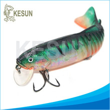 big size soft plastic swimbait jointed fishing lure CH9J01 190mm,95g OEM products