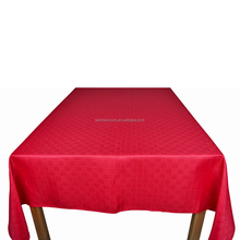 factory price red wedding decoration table cloth wedding