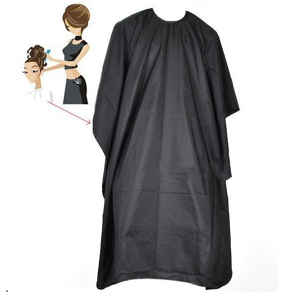 Professional hair styling nylon cape cutting barbers hairdressing gown clothes