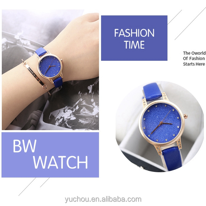 wholesale 2017 new design women wrist watches with good service