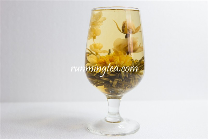 Special Blooming Tea With Unique Jasmine Flower Tea