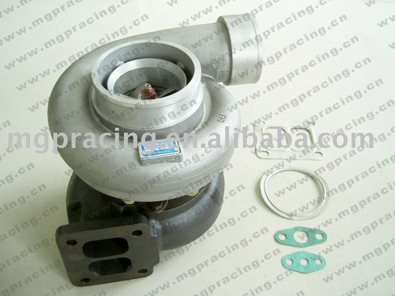 gt45 turbo T4 Flange V-Band twin scroll entry anti-surge universal turbo kit turbocharger