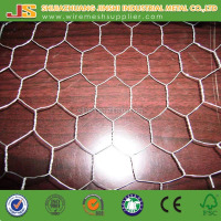 Galvanized Weave Wire Mesh Type Hexagonal Hole Shape Poultry Wire Netting