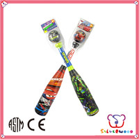 ICTI SEDEX factory eco-friendly Customized Promotional mini baseball bats wholesale