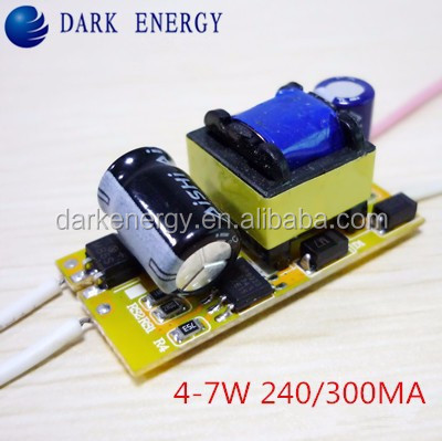 Warranty Constant Current 4w 5w 6w 7w led driver power supply for E27 E14 bulb