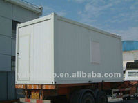 20 feet container house, prefab house container, moving house