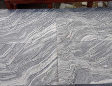 Competitive Price Decoration Material Wave Sand grey Granite Slab ,Granite floor tiles for Construction