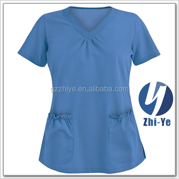 Uniform factory price wholesale medical uniform nurse scrub