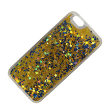 Promotion Dynamic Quicksand TPU+PC Glitter Liquid Phone Case for Iphone X 5 6 7 8 Plus