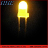 red and round 3mm dip led diode cheap with high mcd