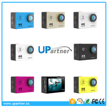 Selling well all over the world 2.0 inch LCD 16MP 4k wifi waterproof action camera v10