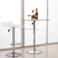 TRANSPARENT CLEAR LUCITE PLASTIC ACRYLIC BAR STOOL