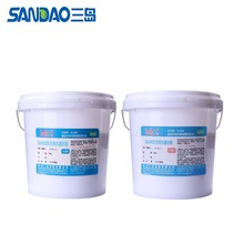 SD6105 moisture proof seal two components silicone potting sealant for led or underwater lamp