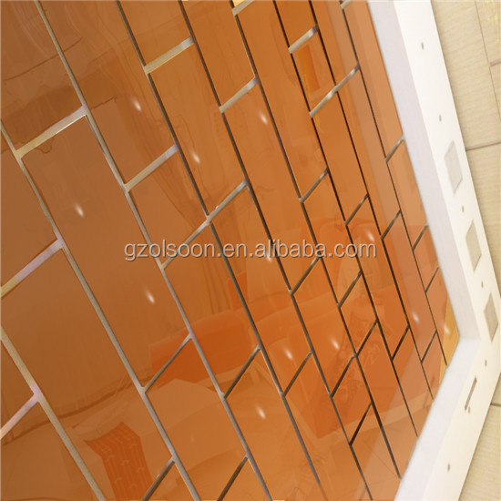 acrylic self adhesive mirror sheet | plexiglass mirror tiles for wall decoration