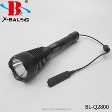 BAILONG Q2800 1000 lumens remote switch hunting flashlight