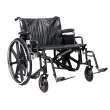Bariatric best used mag wide wheels steel wheelchair