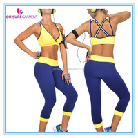 workout clothes, active wear, sports garment for lady