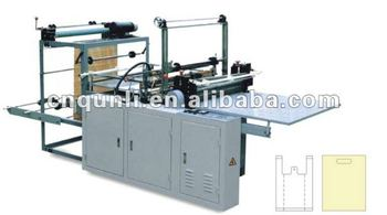 photo-electrical control and computer control bag making machine