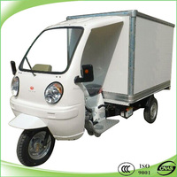 High quality heavy load 200cc cargo tricycle with closed body