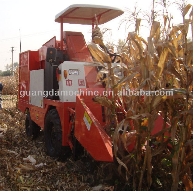 2 row Corn combine harvester for sale