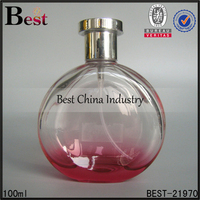 100ml round red bottle perfume for women hot sale