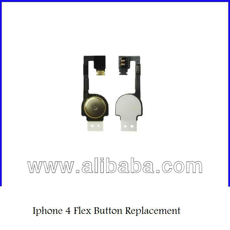 1000pcs/lot Brand New Home Menu Button Flex Ribbon Cable for iPhone 4 4G free shipping by DHL EMS