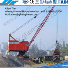 GHE DLQ 40B Electric Wheel portal Crane mounted crane low price on sale