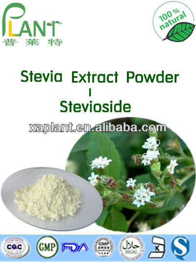 Best prices Stevia extract, high purity Reb A 60% 80% 90% 95% 98%99%, High STV 84% 94% 98%