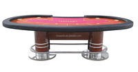 luxury poker table customized Texas poker table