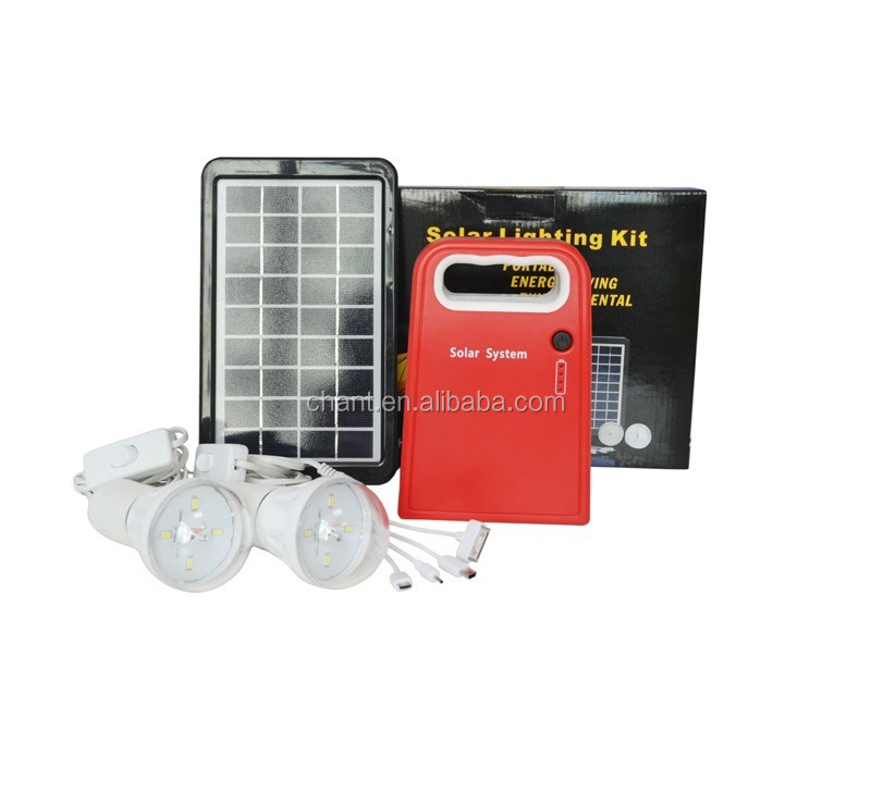 3W small solar system,solar power generation systems,portable solar lighting kits
