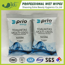 60% ethyl alcohol wipes