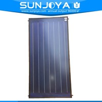 Germany Blue Titanium Flat Plate Thermal Solar Water Heating Panel Price