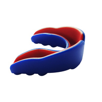 2019 EVA Eco-friendly Boxing Mouth Guard Sports Basketball Gum Shield Teeth Transparent Protector Mouth Guard