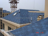 3-tab Blue Asphalt Shingle with High Quality Raw Material