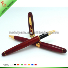 New arriving hot sale high quality rose promotional wood ball point pen