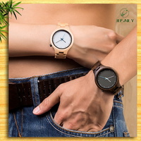 2016 Popular Fashion Different Wood Ladies Lady Men Watch In China Factory